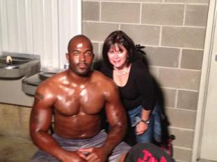 Mario Williams and Cindy Kyle
