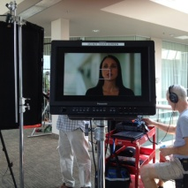 Video shoot for mortgage company